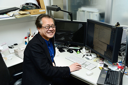 设计制作部 Intermedia Team Leader 門野 孝介
